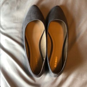 Gray Old Navy Flats